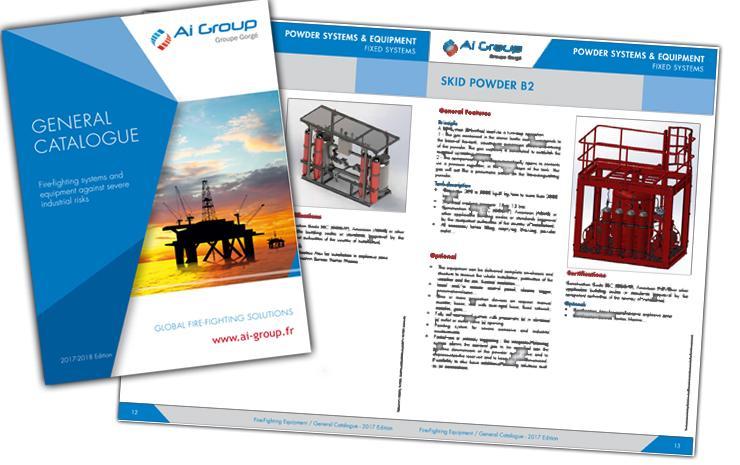 catalogue produits systèmes protection incendie