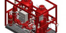 3D drawing - powder units (2x250kg)
